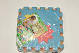 Развивающий коврик мозаика M 0375 EVA, цифри, 10 шт., 30-30 см, фото 3
