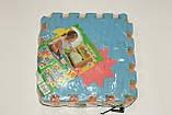 Развивающий коврик мозаика M 0375 EVA, цифри, 10 шт., 30-30 см, фото 4