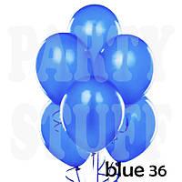 Воздушные шарики Gemar АМ50 Голубой металлик,  5' (13 см) 100 шт