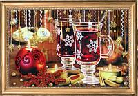 Набор для вышивания бисером Рождественский чай БФ 291