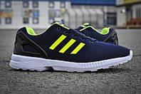 Кроссовки мужские Adidas Flux Blue Lime