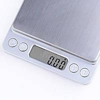 Ювелирные электронные весы  0,01-500 гр ( 2-е чаши )