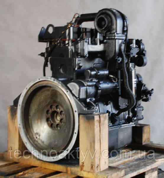 Двигатель     Cummins 4BT3.9-C100, 4BT3.9-C105, 4BT3.9-C110