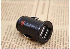 Автозарядка USB от прикуривателя GRIFFIN black (черный)