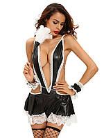 Сексуальный женский костюм горничная