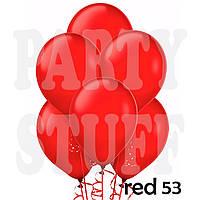 Шарики надувные Gemar АМ50 Красный металлик,  5' (13 см) 100 шт