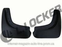Брызговики полиуретановые Daewoo Gentra II (13-) (Деу Гентра) (2 шт) задние