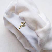 Берет для крещения Велюр для девочки цвет белый, молочный размер 56-68 Бетис