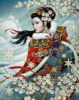 Набор алмазной вышивки Восхитительная японка 40 х 50 см (арт. FS394) , фото 1
