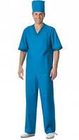 Костюм хирурга с колпаком, пошив медицинской одежды от 10 ед.