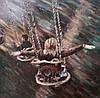«Вольный полет» картина маслом
