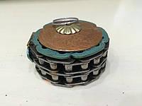 Шкатулка круглая в стиле стимпанк
