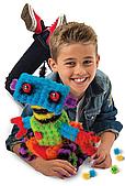 Детский конструктор - липучка на 400 деталей