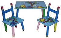 Столик и два стульчика. Для игр, кормления, для рисования.