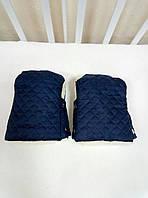Муфта-рукавицы на детскую коляску и санки, цвета в ассортименте