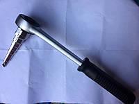 Ключ универсальный трещеточный для монтажа кранов(американок) 8-ступенчатая насадка  Forsage 4032.4031D