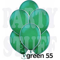 Надувные шары Gemar АМ50 Зеленый металлик,  5' (13 см) 100 шт
