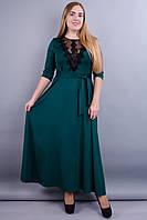 Регина. Нарядное платье больших размеров. Бутылка., фото 1
