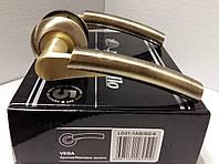 Ручка раздельная ARMADILLO Vega LD21-1AB/SG-6 бронза/мат.золото, фото 1