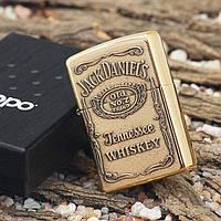 Зажигалка ZIPPO Jack Daniel´s. Реплика