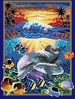 """Мозаика камнями """"Подводный мир"""""""