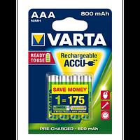 VARTA (AAA) 1000mAh BLI 4 NI-MH