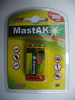 MASTAK HR6F22 300mAh NiMH (крона)