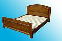 Деревяная кровать из Закарпатья, Бук, Дуб.№1