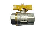 Кран шаровый газовый 0.5 дюйма sd бгг