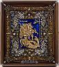 VIP иконы. Икона ювелирная Святой Георгий Победоносец.
