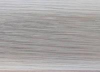 Плинтус T.Plast с мягким краем и кабель-каналом 2,5 м (дуб снежный)
