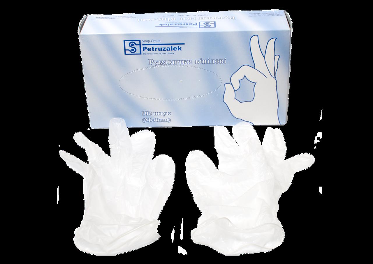 Полиэтиленовые одноразовые перчатки
