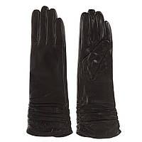 Перчатки женские (черные, модные, стильные, классические)