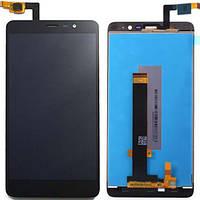 Дисплей (экран) для Xiaomi Redmi Note 3/Redmi Note 3 Pro + с сенсором (тачскрином) черный