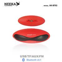 "Беспроводная колонка ""NEEKA"" NK-BT02 Bluetooth/USB/TF/AUX/FM"