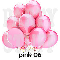 Воздушные шарики Gemar G90 пастель розовый 10' (26 см) 100 шт