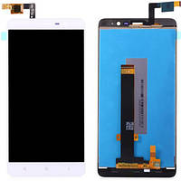 Дисплей (экран) для Xiaomi Redmi Note 3/Redmi Note 3 Pro + с сенсором (тачскрином) белый