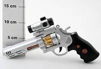 Пистолет 22х17см., звук стрельбы, подсв. дула и барабана 06917