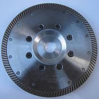 Алмазный диск с фланцем для  резки гранита Turbo 180x2,4/1,5x10x70/F-22,23