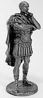 Оловянная миниатюра. Гай Юлий Цезарь
