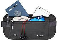 Секретная сумка на пояс Travelambo с RFID защитой, фото 1