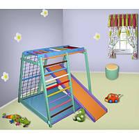 Детский спортивно — игровой комплекс «Малыш» Цветной Буратино
