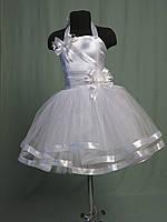 Нарядное корсетное платье с украшениями ручной работы