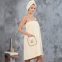 Набор для сауны Elite женский, фото 1
