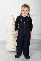 Зимний полукомбинезон детский прямой - аналог LENNE (Черный)