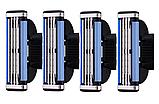 Лезвия для станка Gillette Mach3 Mach 3  Кассета для бритья жилет жилет, фото 2