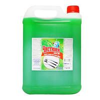 Моющее для посуды Чистюня Зеленое яблоко 5 л