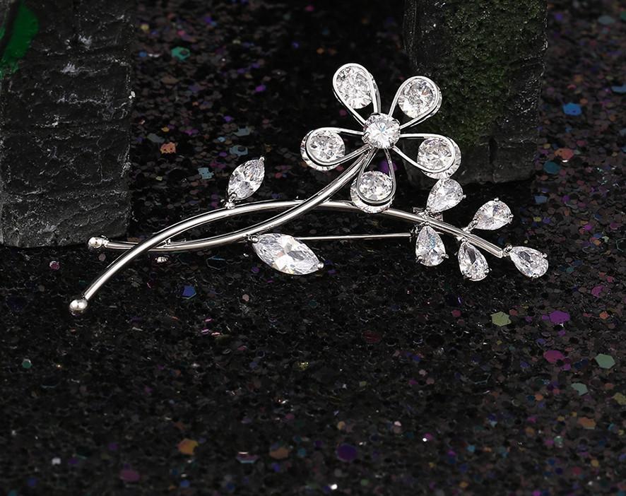 Брошка родована,  Чародійна квітка, Xuping