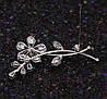 Брошка родована,  Чародійна квітка, Xuping, фото 7