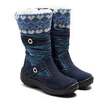 Мембранные синие сапоги Kapika для девочки, размер 27-32